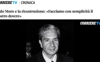 Il Corriere della Sera celebra Moro con il video promosso dal Centro Studi